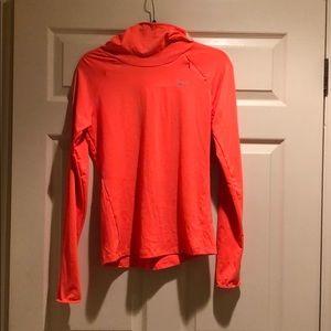 Nike Neon Orange Running Shirt